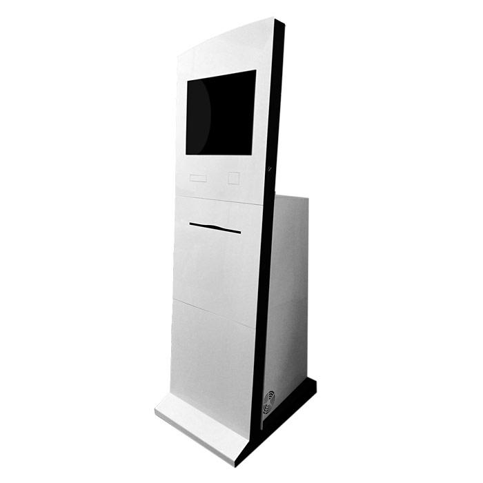 Сенсорный киоск ПЛАТАН 19 с лазерным принтером А4